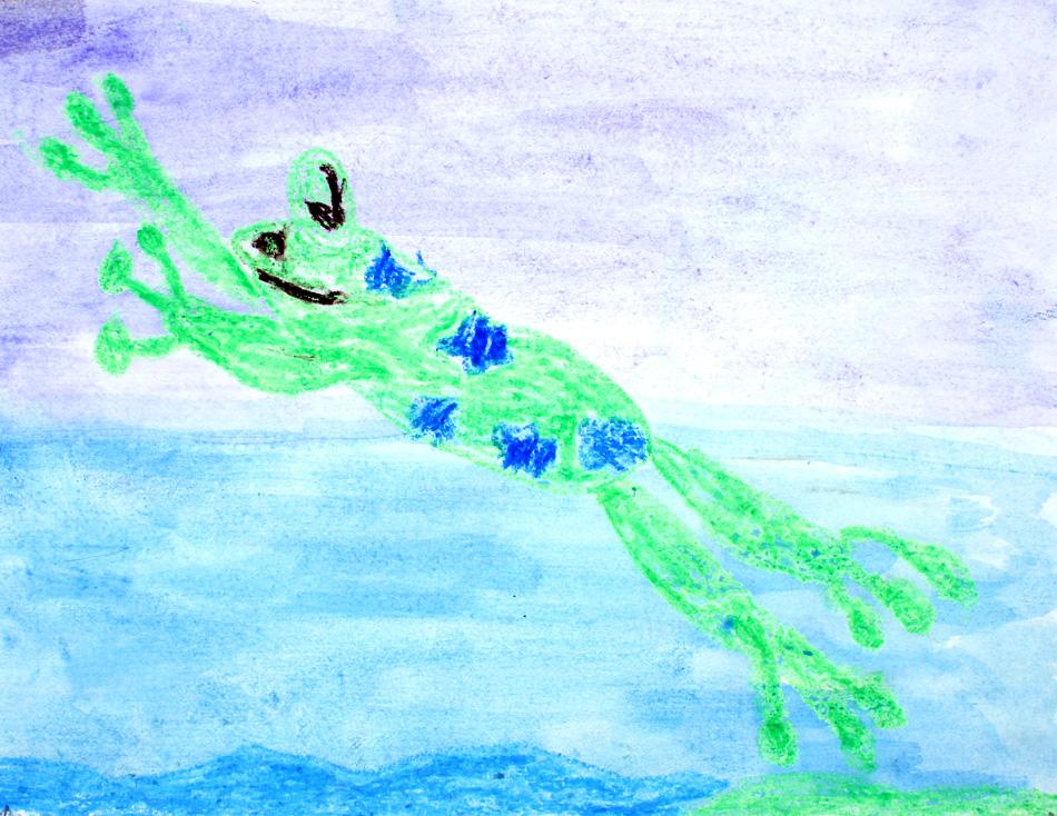 Springender Frosch von Hebun (8)