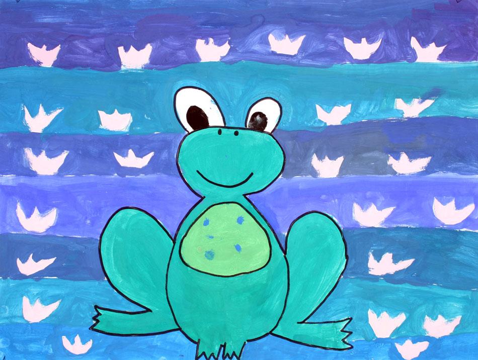 Frosch von Alina (11)