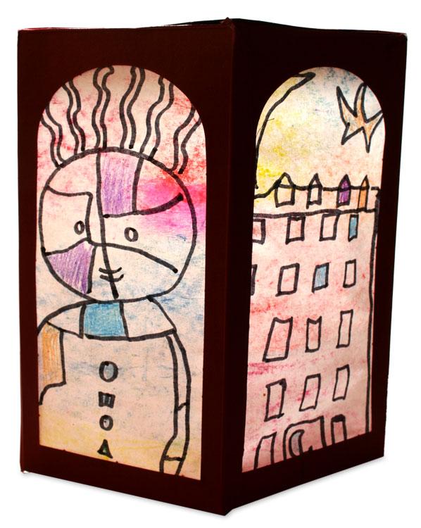 Paul Klee-Laterne von Valentina (7)