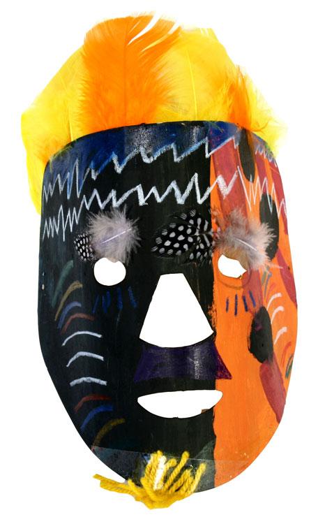 Afrikanische Maske von Lea (9)
