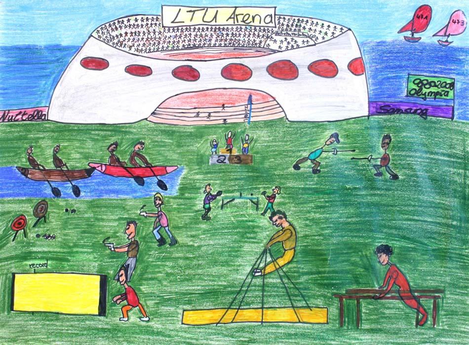 Vorbereitung zu den Olympischen Spielen  von Nino (12)