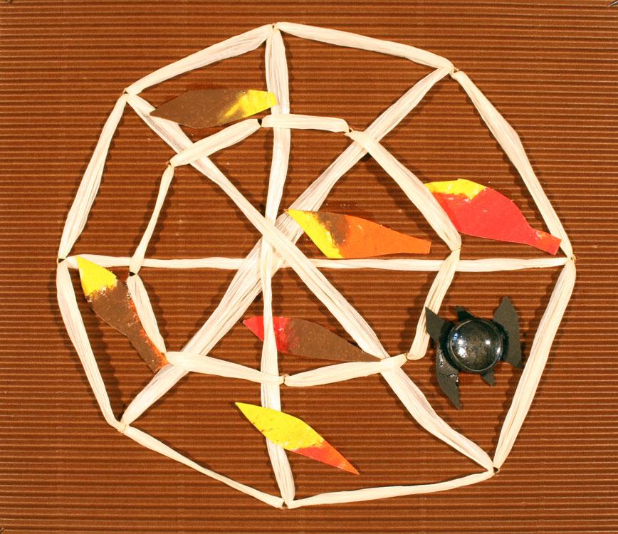 Spinnennetz im Herbst von Tim (8)