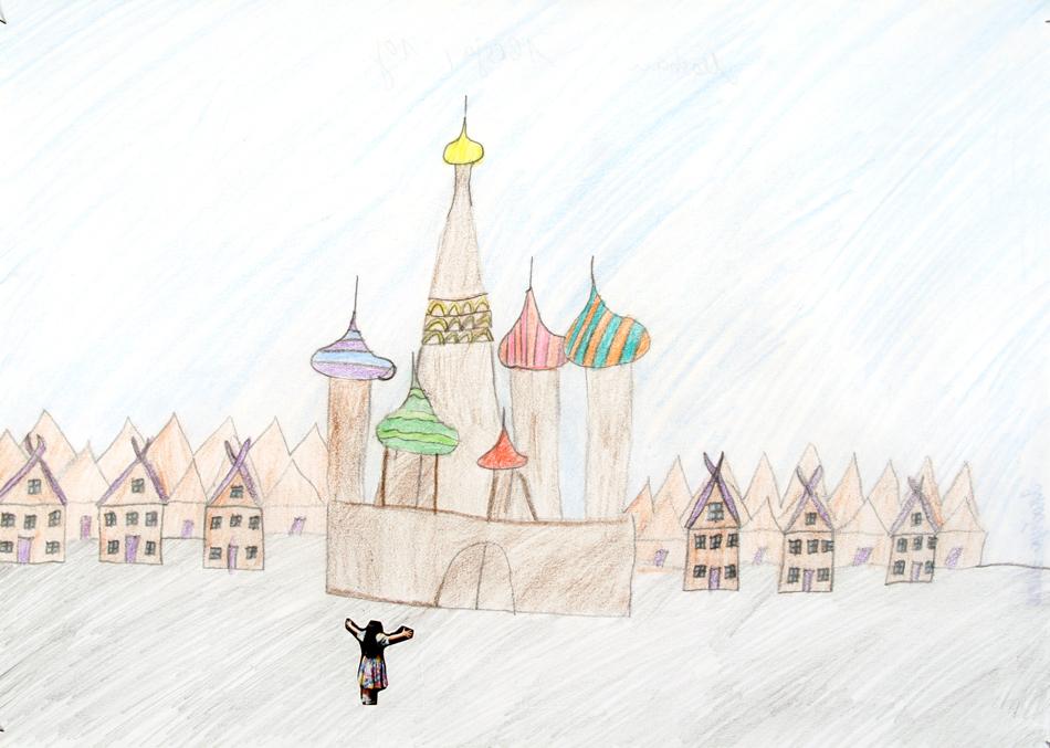 Altes Moskau von Alesja (10)