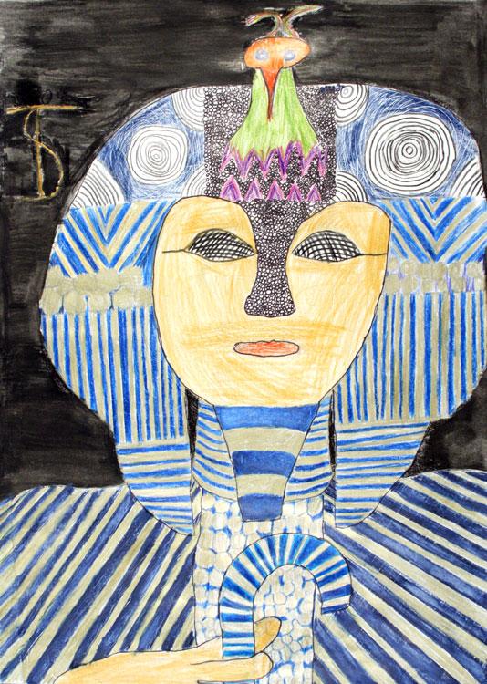 Berühmte Kunstwerke nachempfunden von Sandra (12)