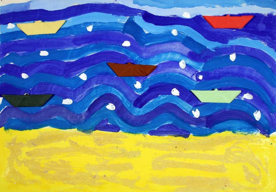 Schiffe auf dem Meer von Carl (7)