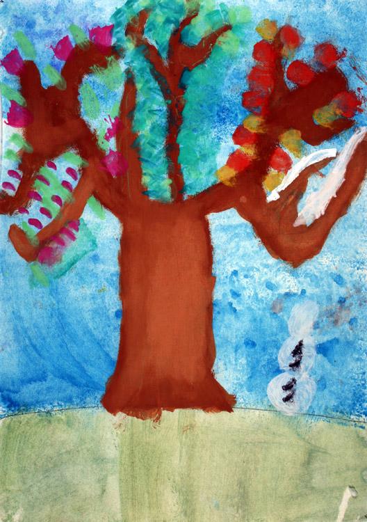 Vier-Jahreszeiten-Baum von Jennifer (7)