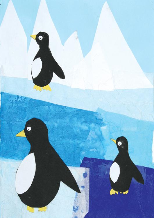 Pinguine am Nordpol von Angelina (9)