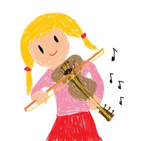 Eine kleine Geige