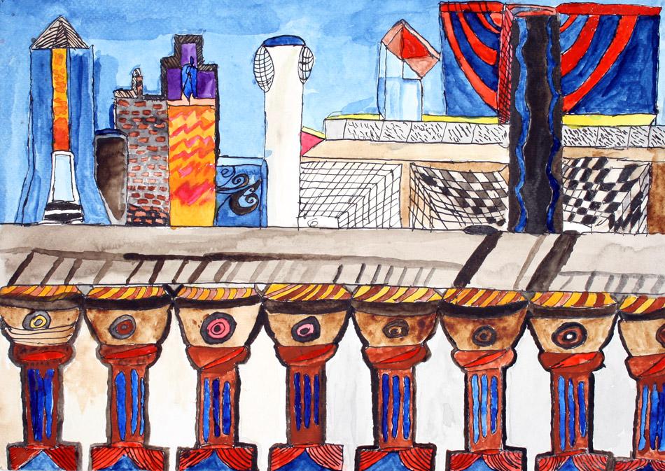Futuristische Stadt von Mathias (15)