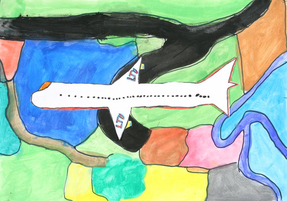 Flugzeug von oben  von Gädir (10)