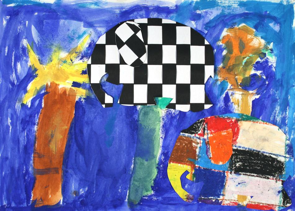 Zwei Elefanten von Adrian (7)