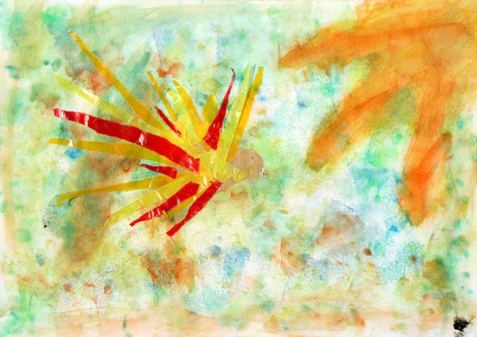 Fliegender Feuervogel von Meike (7)