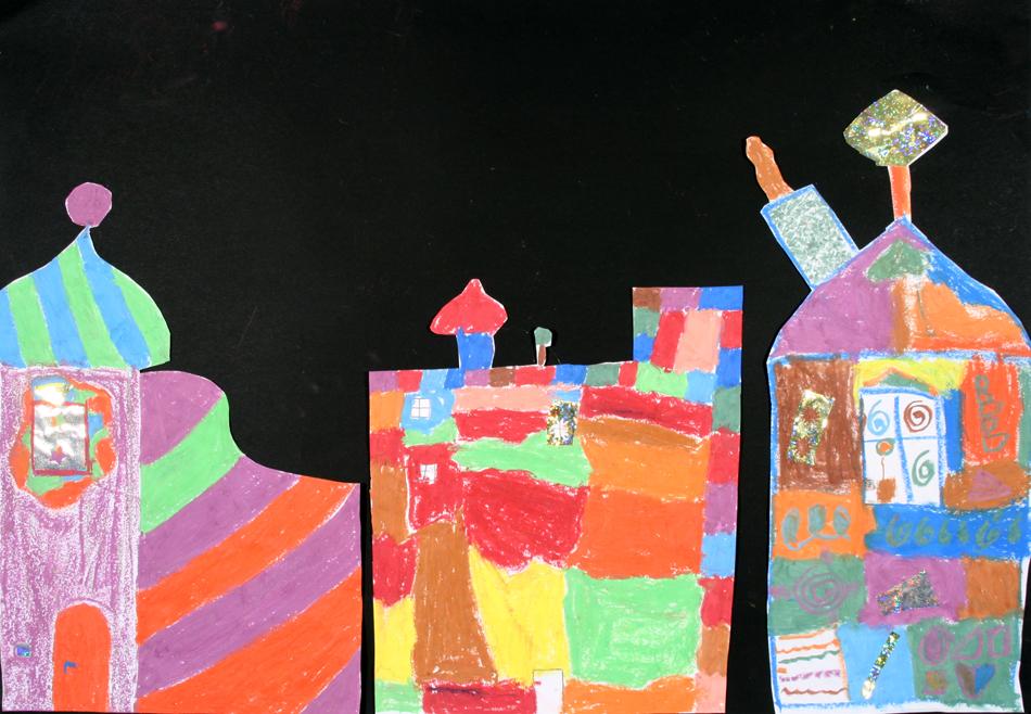 Hundertwasser-Häuser von Meik, Niklas und Maya (9)