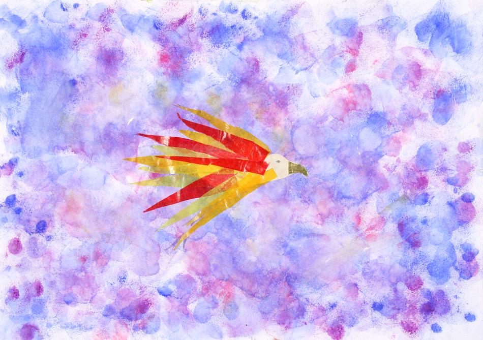 Fliegender Feuervogel von Luisa (8)