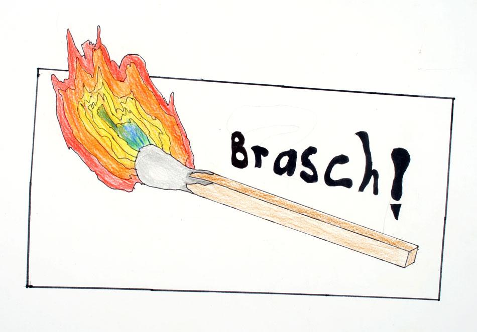 Brennendes Streichholz von Michael (13)