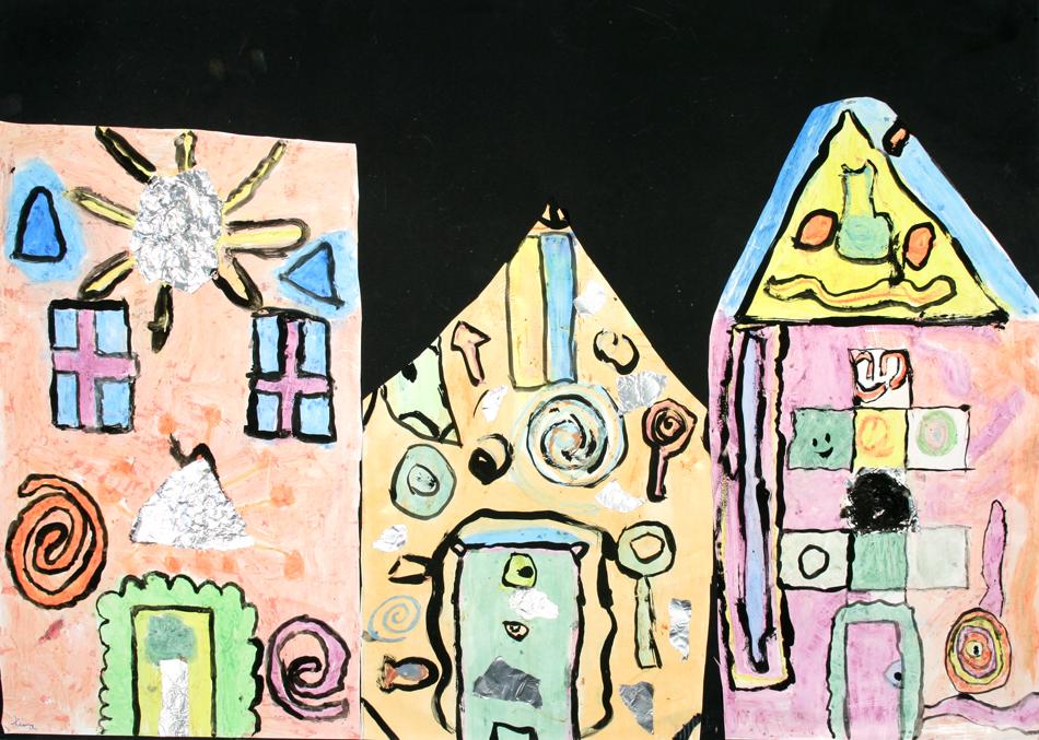 Hundertwasser-Häuser von Miri und Kira (9)