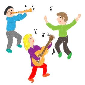 Wir sind zwei Musikanten