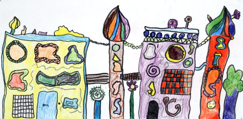 Hundertwasserhaus von Sarah (9)