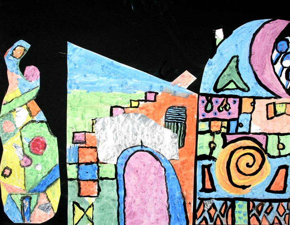 Hundertwasser-Häuser von Luca (9)