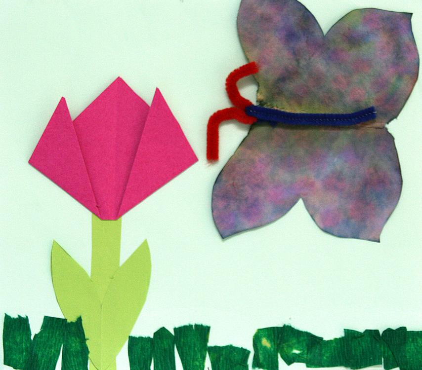Tulpe und Schmetterling von Sementa (6)
