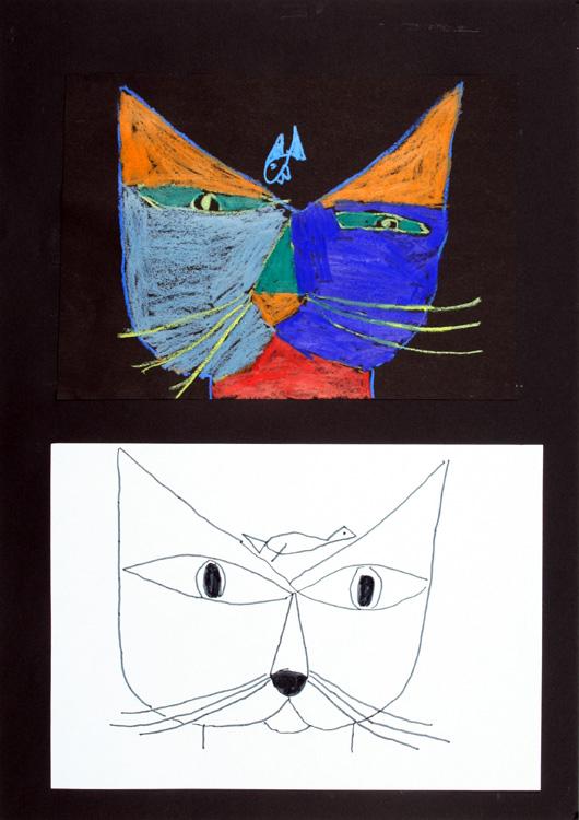 Katzenportrait von Mert (9)