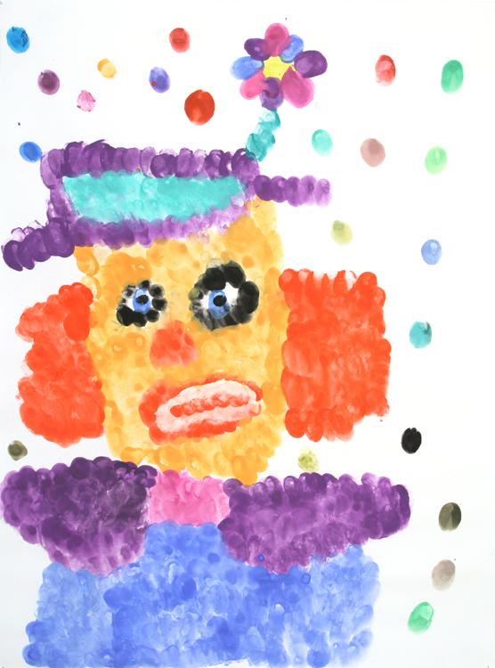 Clowngesicht von Jasmin (9)
