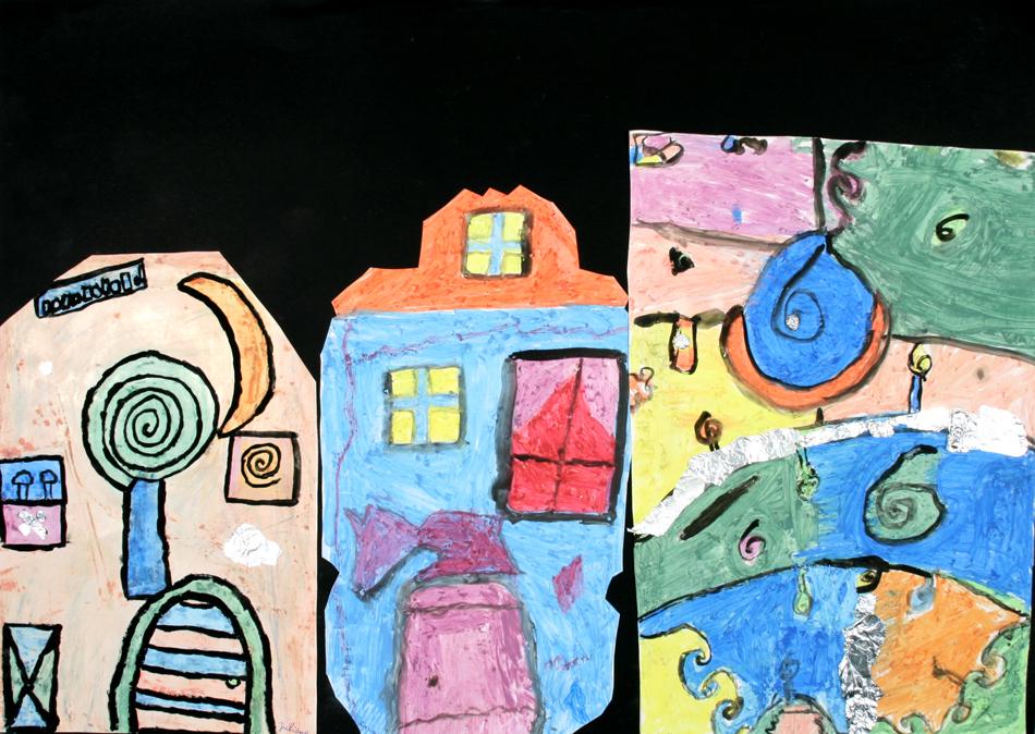 Hundertwasser-Häuser von Juliane, Luisa und Tim (9)