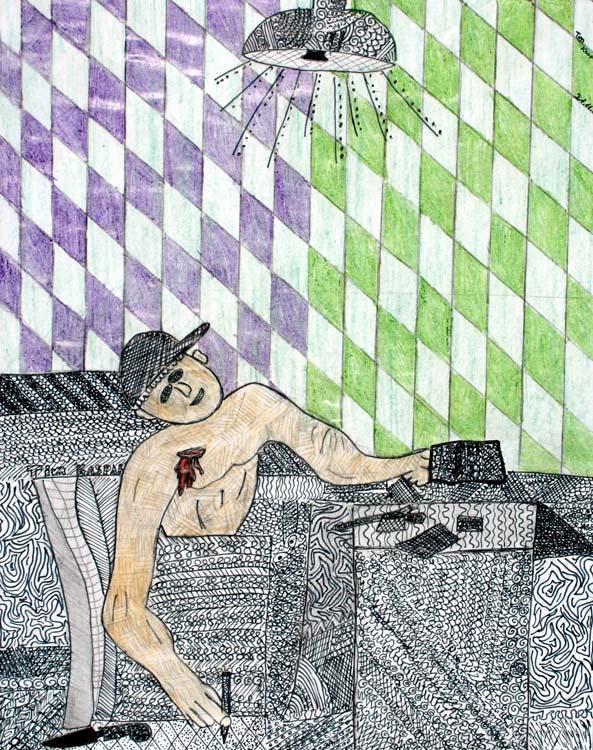 Berühmte Kunstwerke nachempfunden von Tim (12)