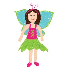 Schmetterling mit frohem Sinn