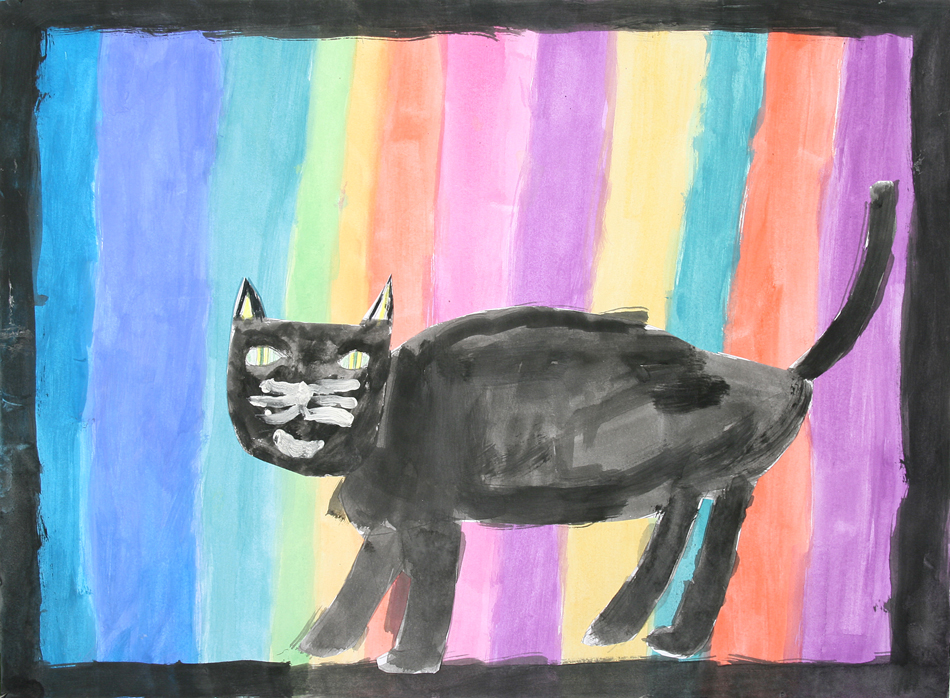 Schwarze Katze von Saron (9)