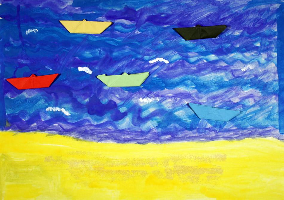 Schiffe auf dem Meer von Christopher (7)