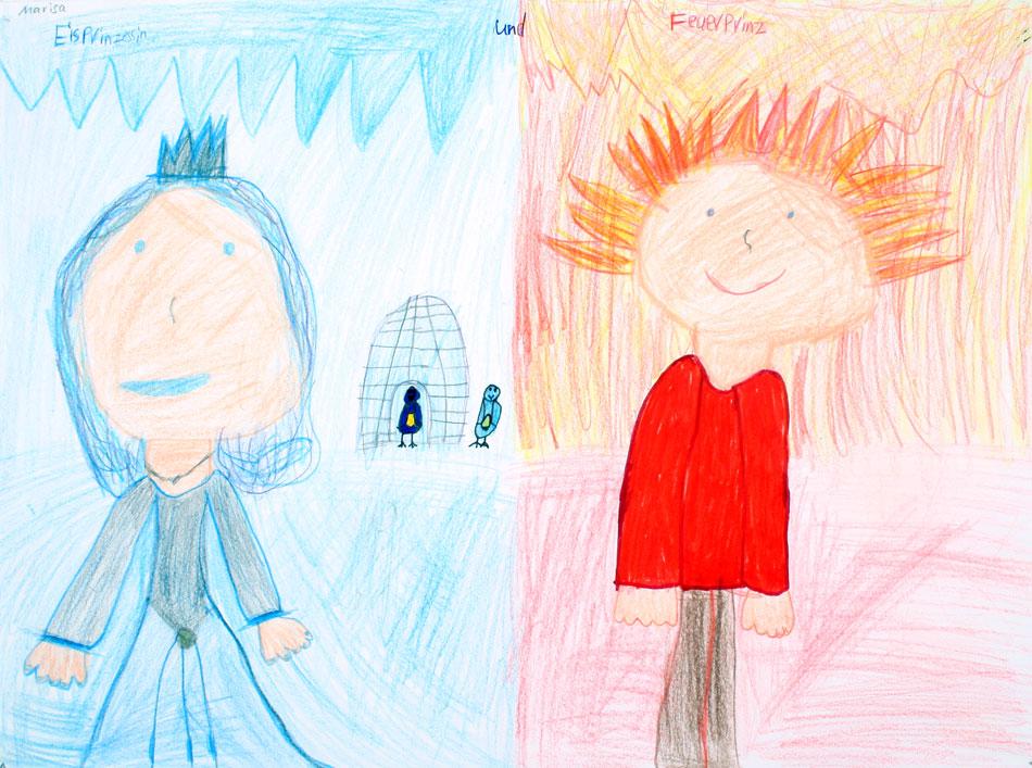 Feuerprinz und Eisprinzessin von Marisa (10)