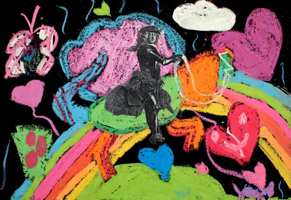 Jan Wellem reitet auf Phantasietier von Alice (9)
