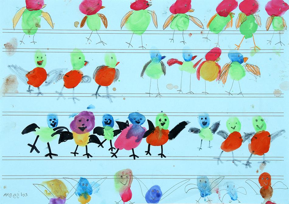 Vögel auf der Oberleitung von Angelina (7)