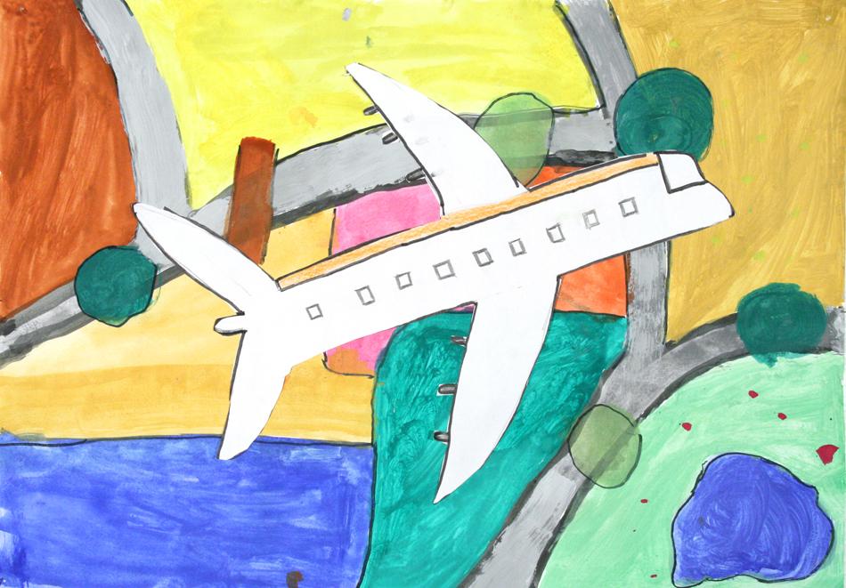 Flugzeug von oben  von Elmedina (10)