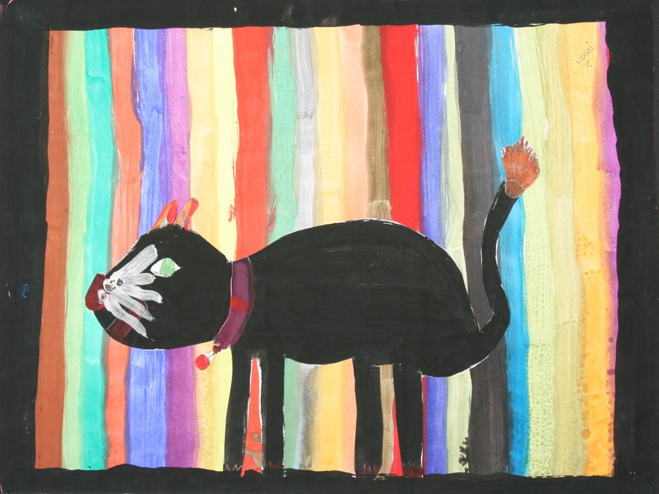 Schwarze Katze von Hakima (9)