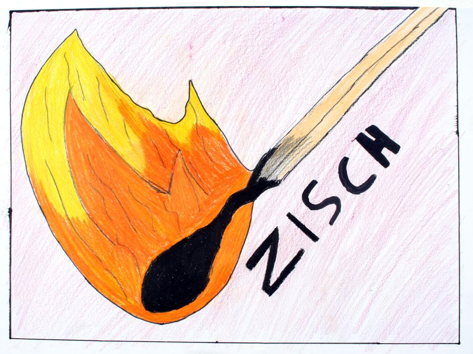 Brennendes Streichholz von Maximilian (13)