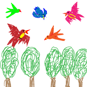 Alle Vögel sind schon da