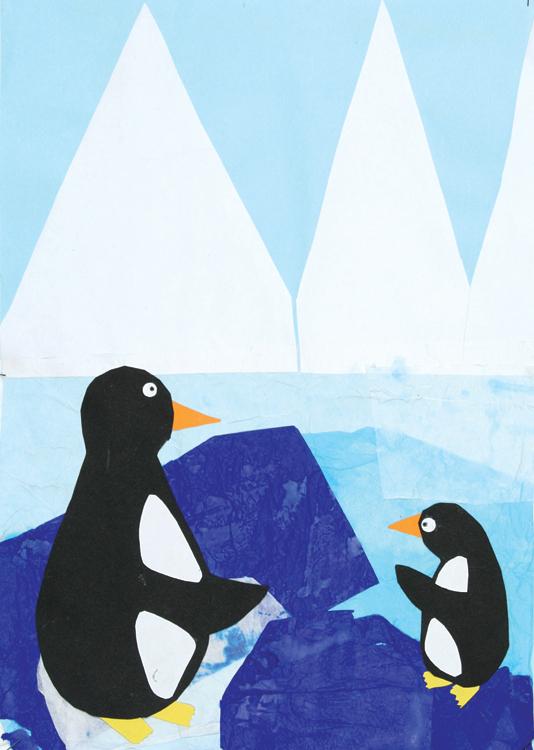 Pinguine am Nordpol von Weronika (9)