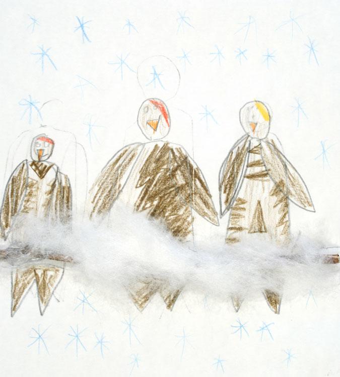Spatzen im Schnee von Adrian (7)