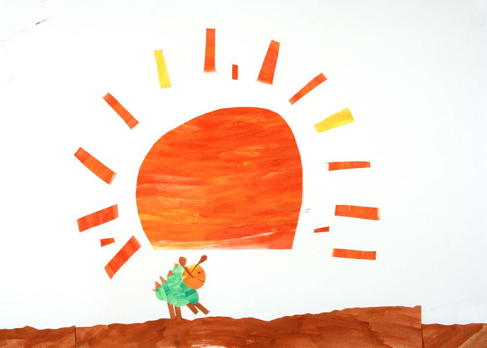 Die kleine Raupe Nimmersatt von Johanna (6)