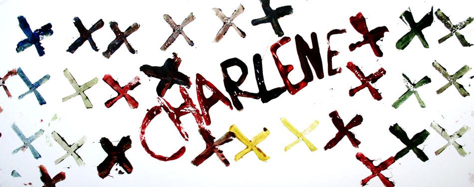 Fensterbild mit Name und Symbolen von Charlene (6)