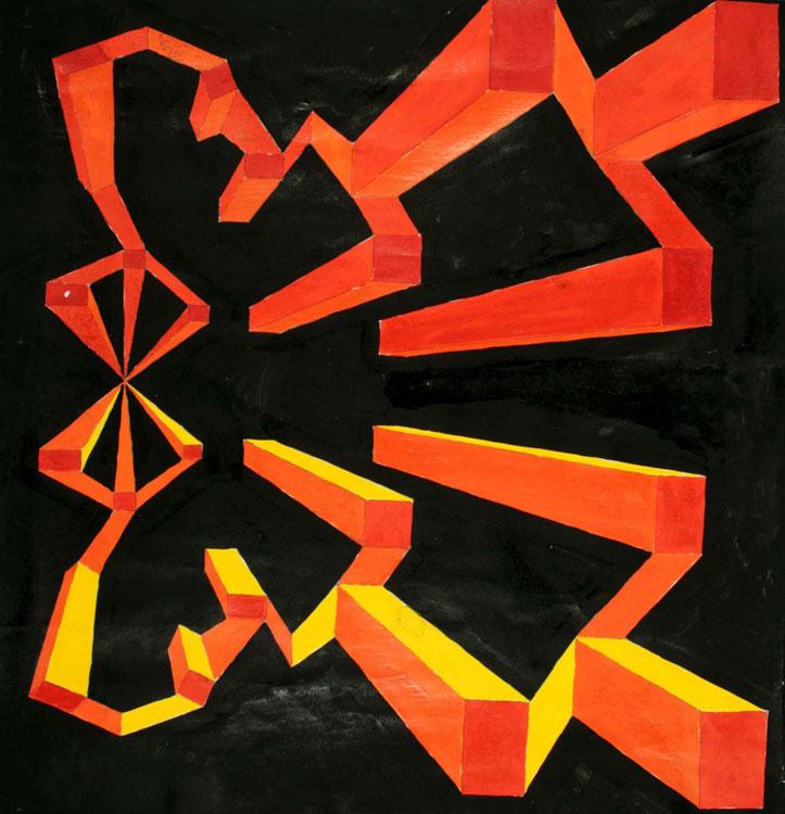 Dreidimensionale Konstruktion von Ryuki (14)