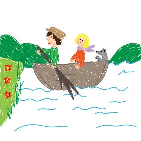 Wenn wir fahren auf der See