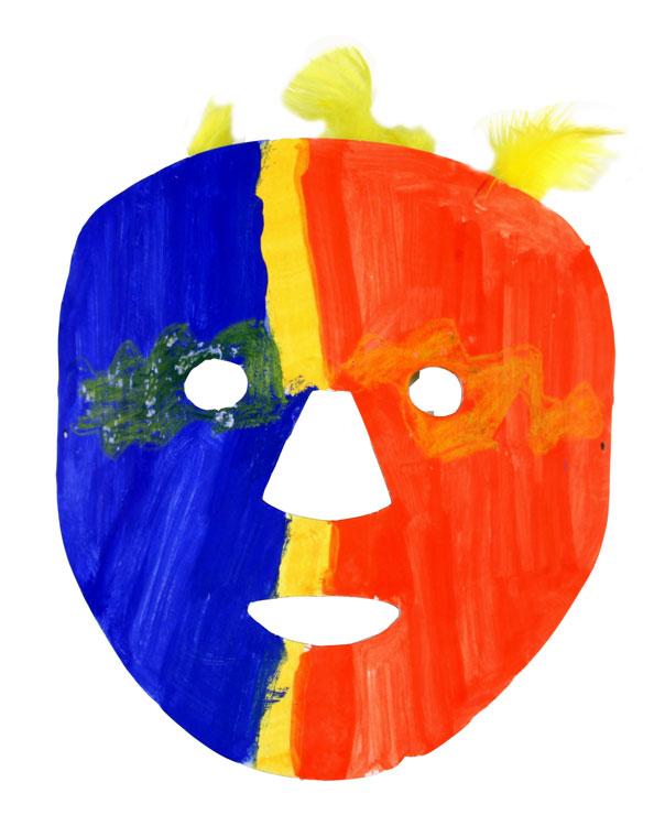 Afrikanische Maske von Pauline (10)