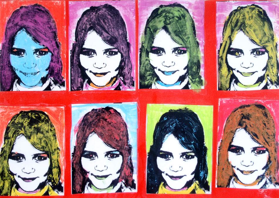 Mein Gesicht in Farbe von Lilli (10)