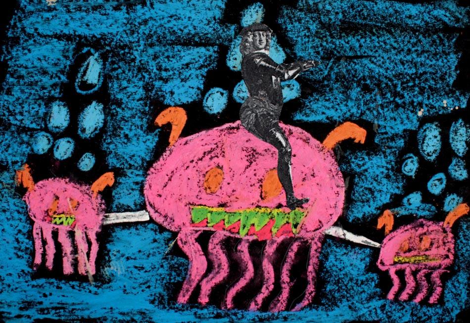 Jan Wellem reitet auf Phantasietier von Franziska (8)