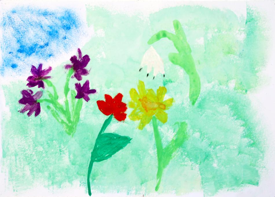 Frühlingsblumen von Noah (8)