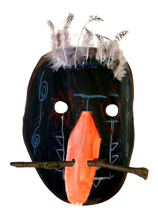 Afrikanische Maske von Kolja (9)