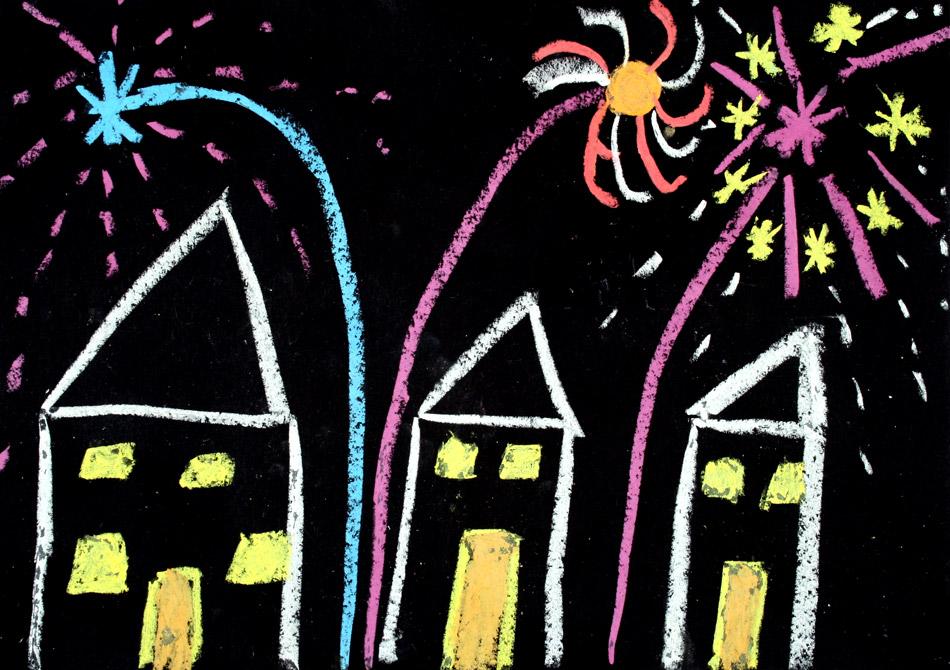 Feuerwerk 2009 von Julia (8)